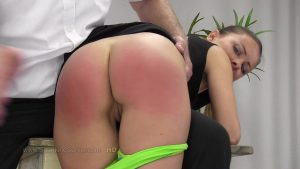 bare bottom hand spanking