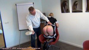 gym shoe spanking