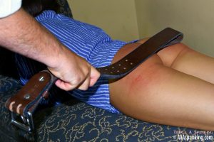 leather belt strapping