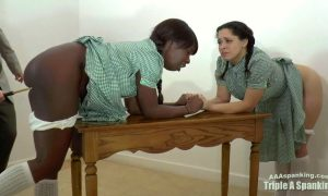 A Very Tearful Detention at AAA Spanking