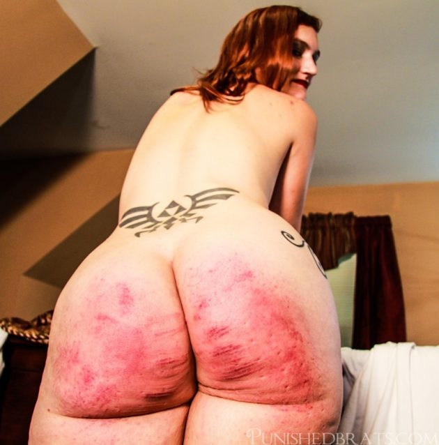 welted ass