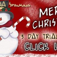 Special Christmas Spanking Offer