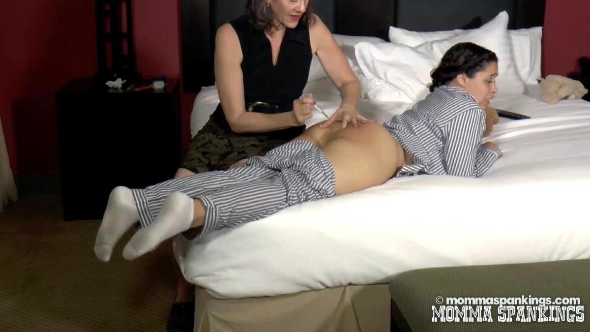 Rectal temperature and spanking schoolgirl - 2 part 4
