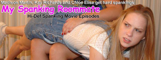 spanking my roommate