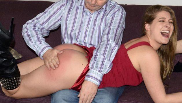 spanking Veronica Weston