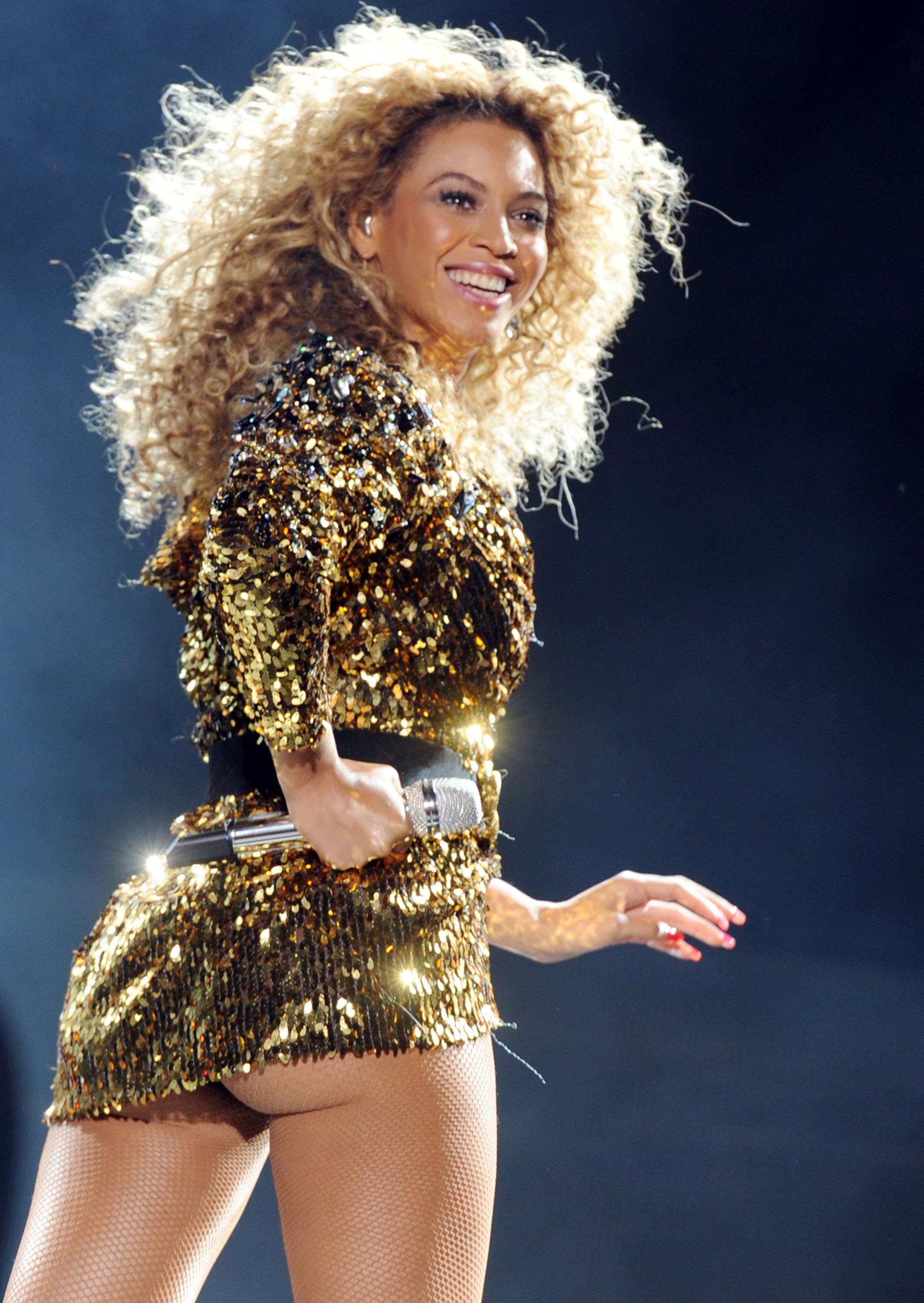 Beyonce at The 2011 Glastonbury Music Festival held at Worthy Farm in Pilton - Day 3