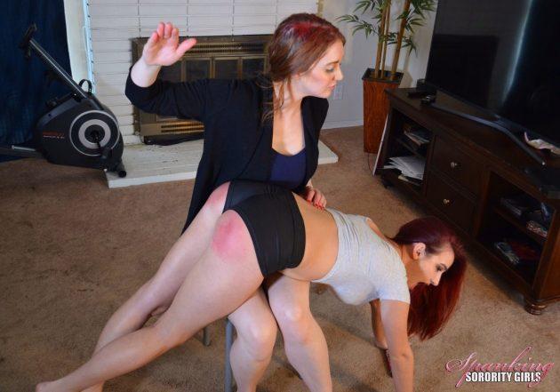 spanking hot pants
