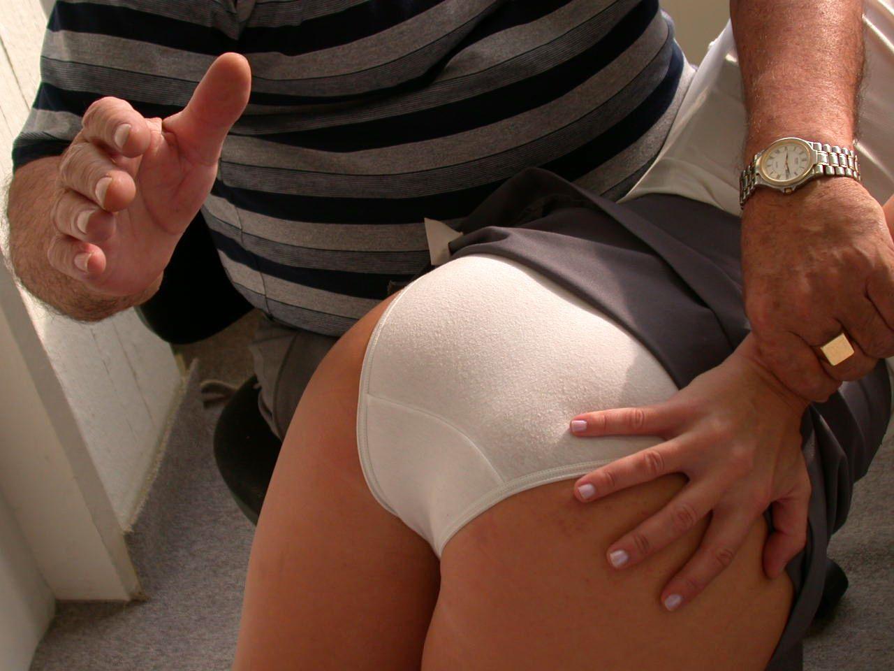 Punished in panties