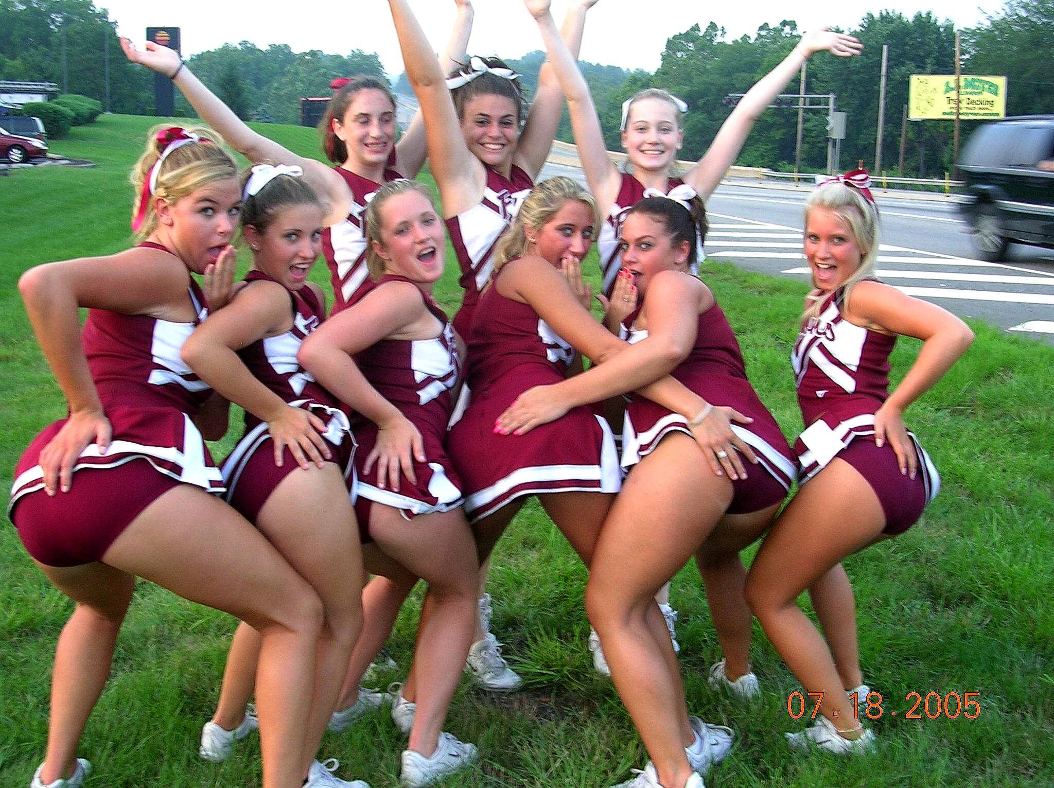 Cheerleader Butts  Upskirts - Spankingblogg - Chiefs -7641