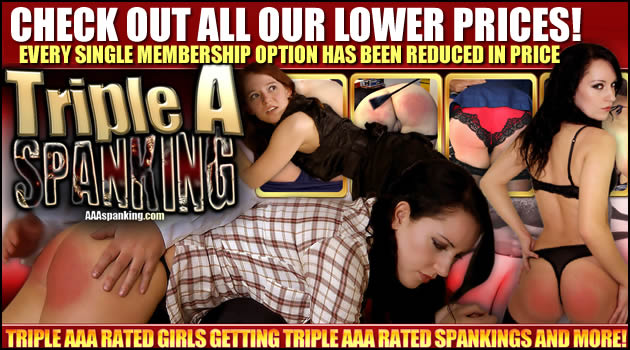 LOWER PRICING AT AAA SPANKING!