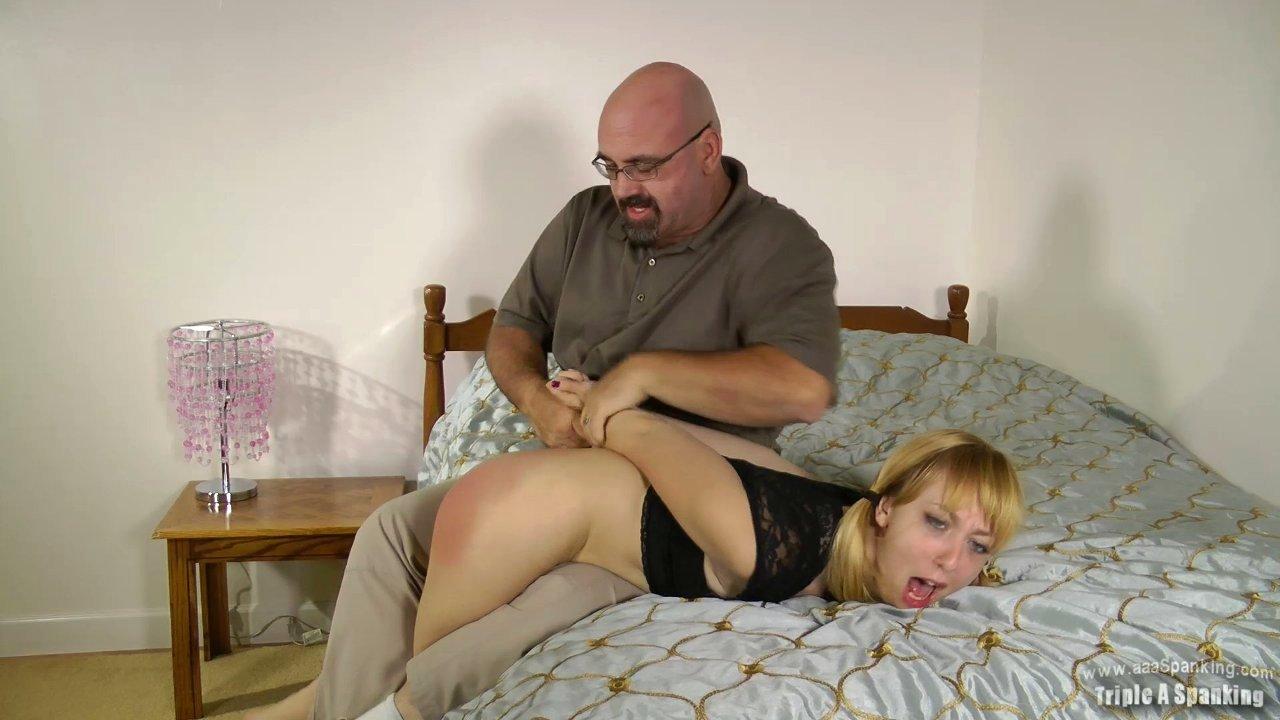bare bottom spanking porn