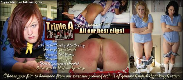 aaa spanking clipstore
