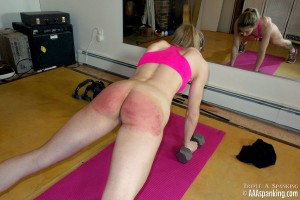 exercise and spanking