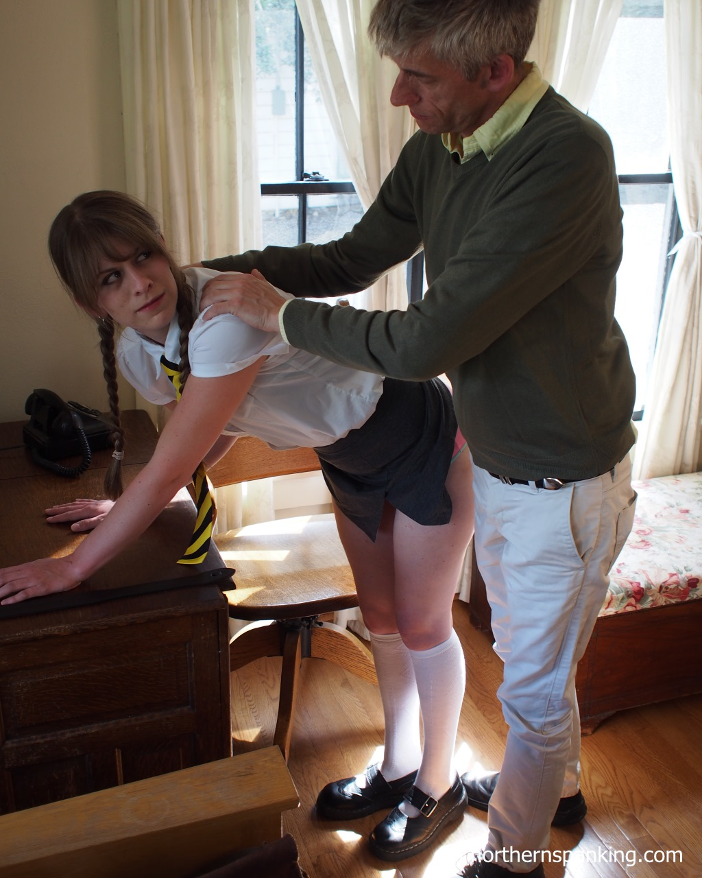 Asian girls being spanked-7223