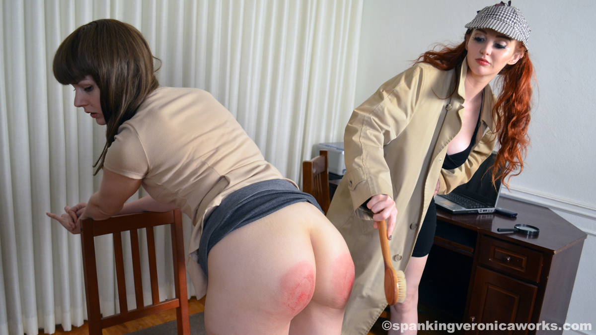 Big tits blonde ass spanked