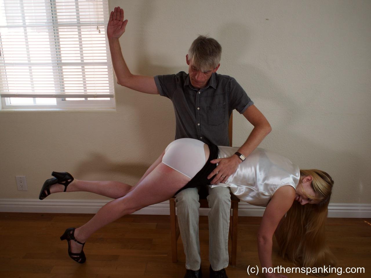 Spank her in her panties-1836