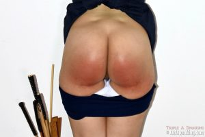 exposed bare bottom