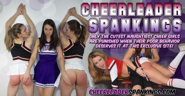 cheerleader spankings