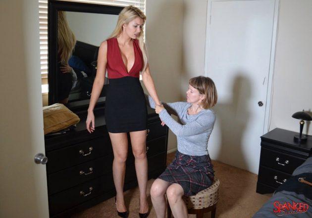 Gigi Allens gets a spanking