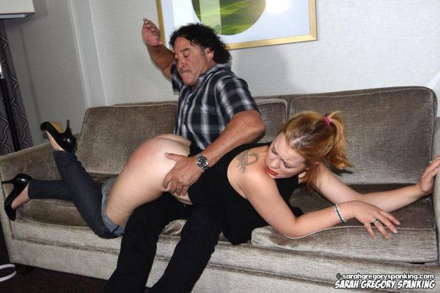 stevie rose gets a spanking